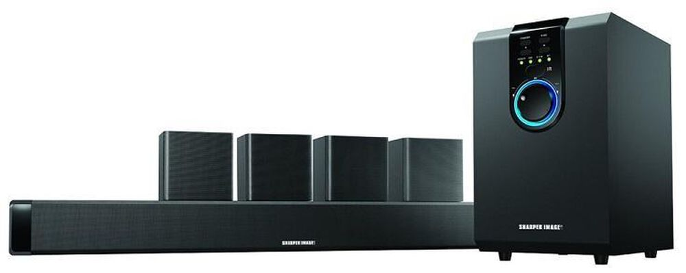 5 1 Home Theater Sound System With Bluetooth Subwoofer Bar