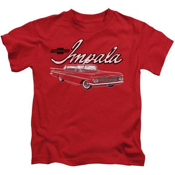 Chevrolet Classic Impala Short Sleeve Juvenile T-Shirt
