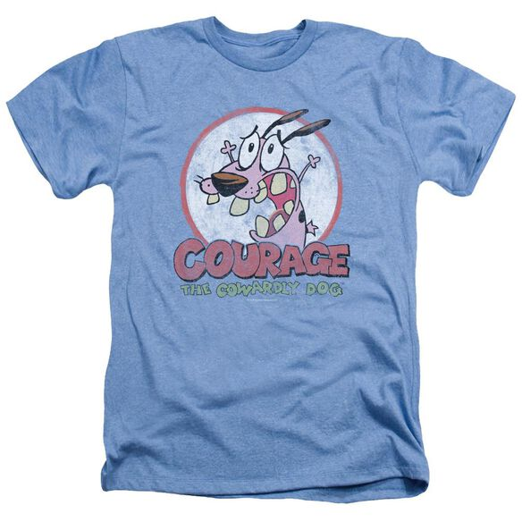 Courage The Cowardly Dog Vintage Courage Adult Heather Light