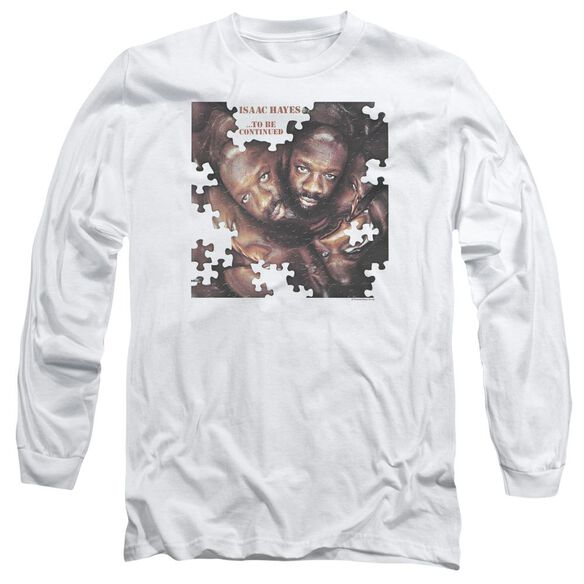 Isaac Hayes To Be Continued Long Sleeve Adult T-Shirt