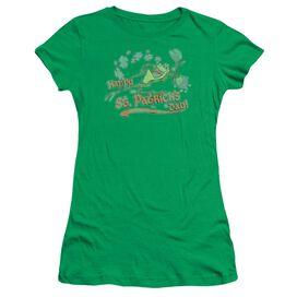 Looney Tunes Michigan J Short Sleeve Junior Sheer Kelly T-Shirt