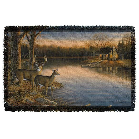 Wild Wings Tranquil Evening 2 Woven Throw