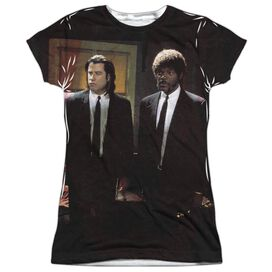 Pulp Fiction Vincent And Jules Short Sleeve Junior Poly Crew T-Shirt