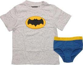 Batman Logo Primary Youth Pajama Set