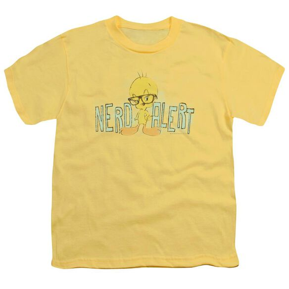Looney Tunes Nerd Alert Short Sleeve Youth T-Shirt