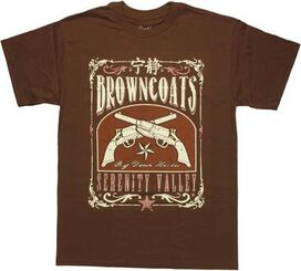 Firefly Browncoats Serenity Valley T-Shirt