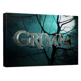 Grimm Grimm Logo Canvas Wall Art With Back Board