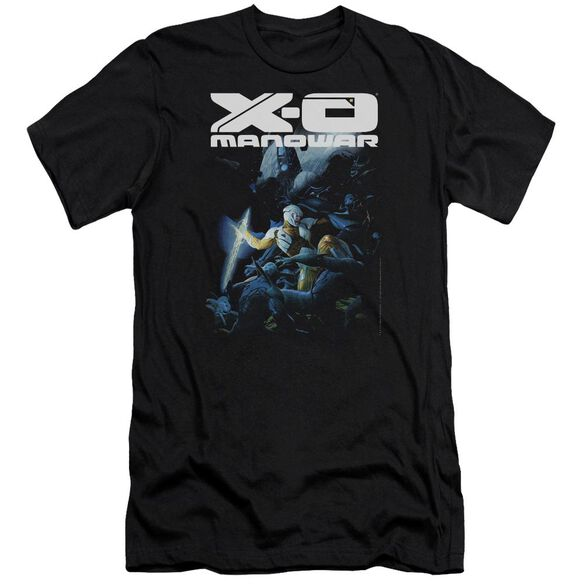 Xo Manowar By The Sword Premuim Canvas Adult Slim Fit