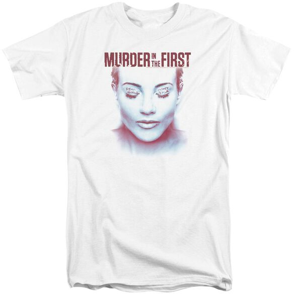 Murder In The First Don't Talk Short Sleeve Adult Tall T-Shirt