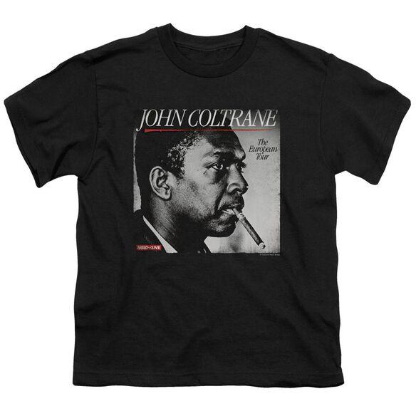 John Coltrane Smoke Break Short Sleeve Youth T-Shirt