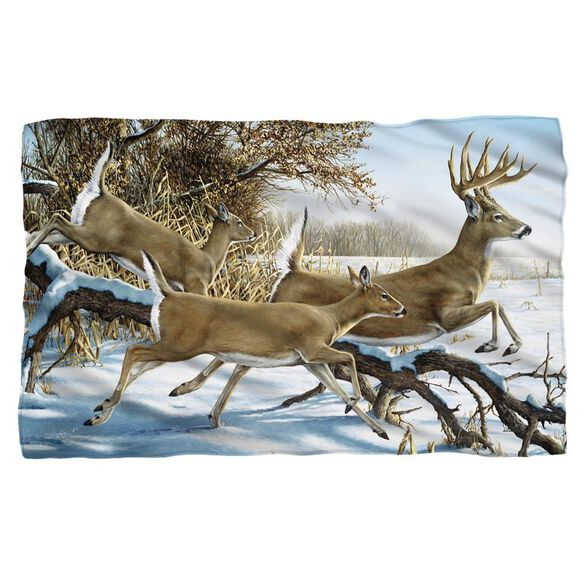 Wild Wings Breaking Cover 2 Woven Throw