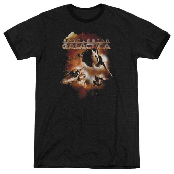 Battlestar Galactica (New) Vipers Stretch Adult Heather Ringer