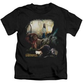 Labyrinth Sarah & Ludo Short Sleeve Juvenile T-Shirt