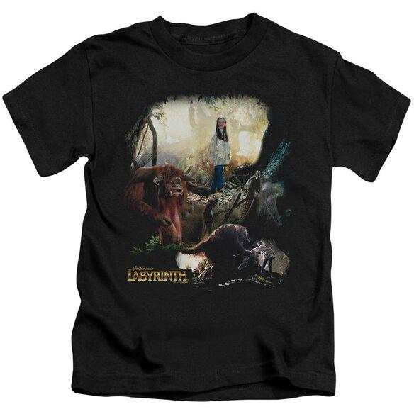 Labyrinth Sarah & Ludo Short Sleeve Juvenile T-Shirt