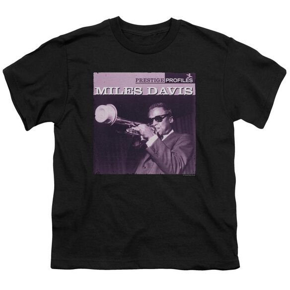 Miles Davis Prince Short Sleeve Youth T-Shirt