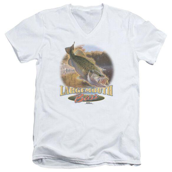 Wildlife Cartwheeling Short Sleeve Adult V Neck T-Shirt