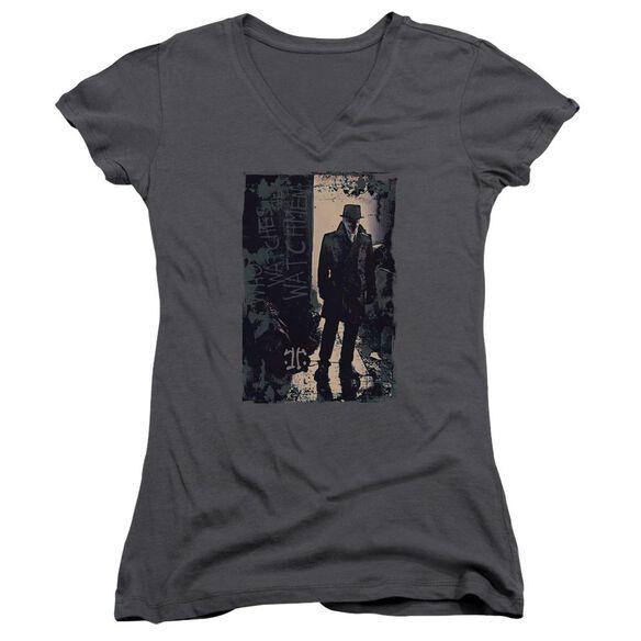 Watchmen Light Junior V Neck T-Shirt