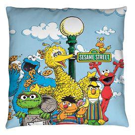 Sesame Street Retro Gang Throw