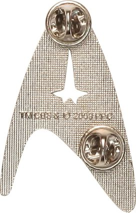 Star Trek Modern Command Badge Pin