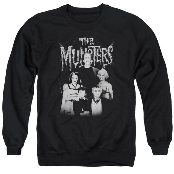 The Munsters Family Portrait Adult Crewneck Sweatshirt