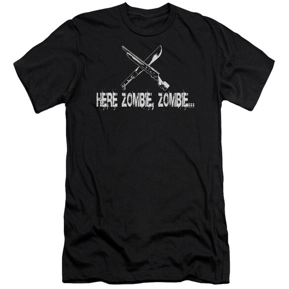 Here Zombie Zombie Short Sleeve Adult T-Shirt