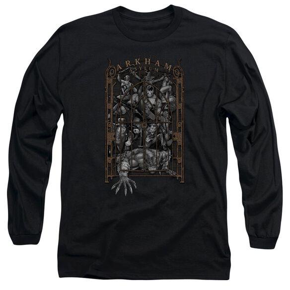 Batman Arkhams Gate Long Sleeve Adult T-Shirt