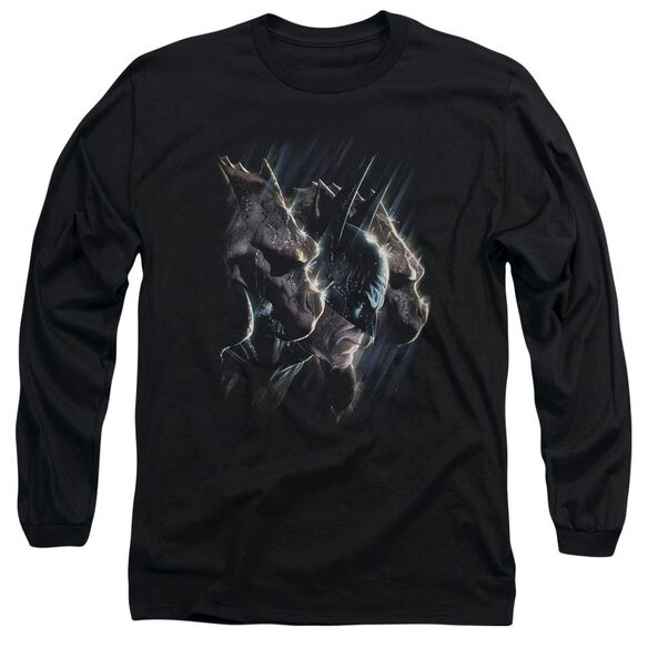Batman Gargoyles Long Sleeve Adult T-Shirt