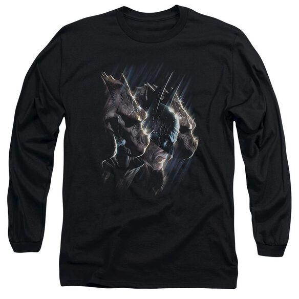 Batman Gargoyles Long Sleeve Adult T-Shirt