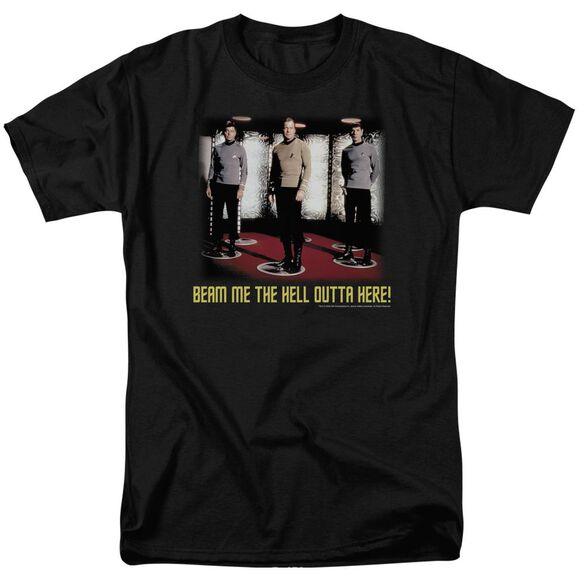 Star Trek Beam Me Out Short Sleeve Adult T-Shirt
