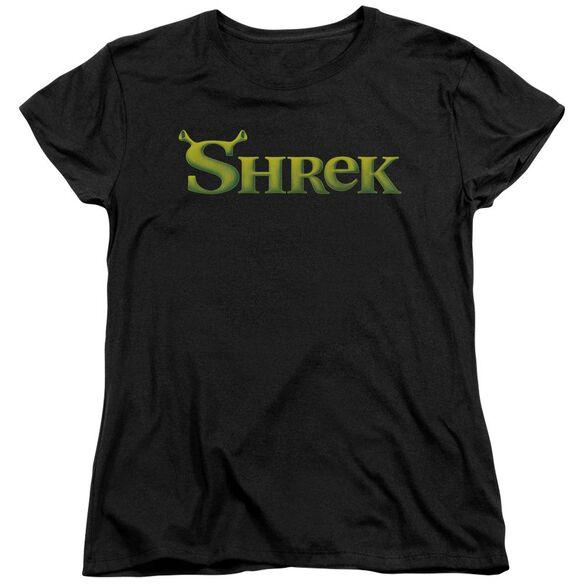 Shrek Logo Short Sleeve Womens Tee T-Shirt