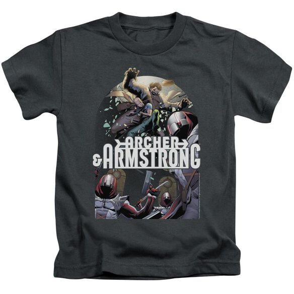 Archer & Armstrong Dropping In Short Sleeve Juvenile T-Shirt