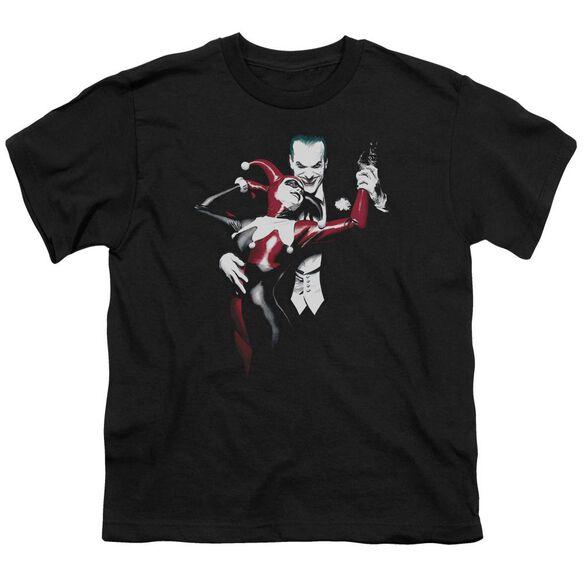 Batman Harley And Joker Short Sleeve Youth T-Shirt