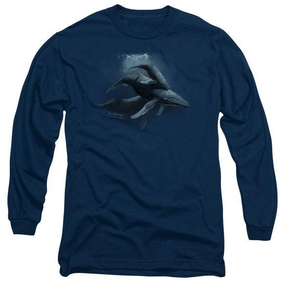 Wildlife Power&Grace Long Sleeve Adult T-Shirt