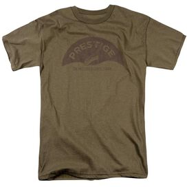 Prestige Prestige Vintage Short Sleeve Adult Safari Green T-Shirt