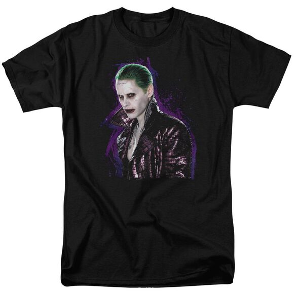 Suicide Squad Joker Stare Short Sleeve Adult T-Shirt