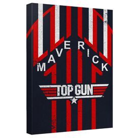 Top Gun Maverick Quickpro Artwrap Back Board