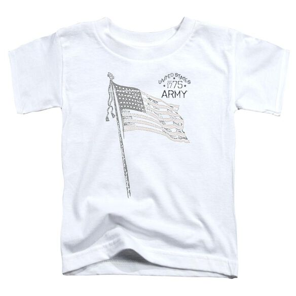 Army Tristar Short Sleeve Toddler Tee White Lg T-Shirt