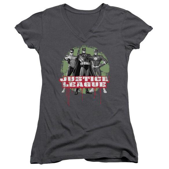 Jla Jla Trio Junior V Neck T-Shirt