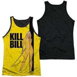 Kill Bill Poster Adult Poly Tank Top Black Back