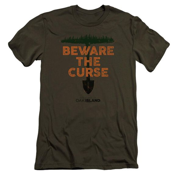 The Curse Of Oak Island Beware The Curse Hbo Short Sleeve Adult Military T-Shirt