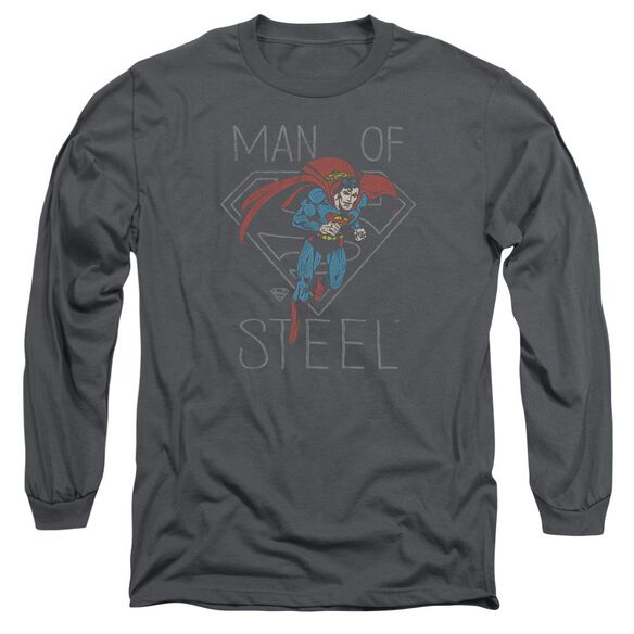 Dc Hardened Heart Long Sleeve Adult T-Shirt