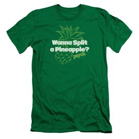 Psych Pineapple Split Short Sleeve Adult Kelly T-Shirt