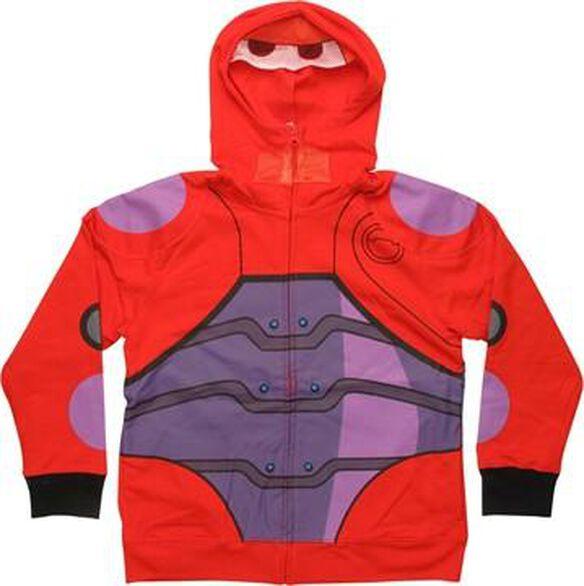 Big Hero 6 Baymax Hero Mesh Mask Youth Hoodie