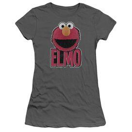 Sesame Street Elmo Smile Short Sleeve Junior Sheer T-Shirt