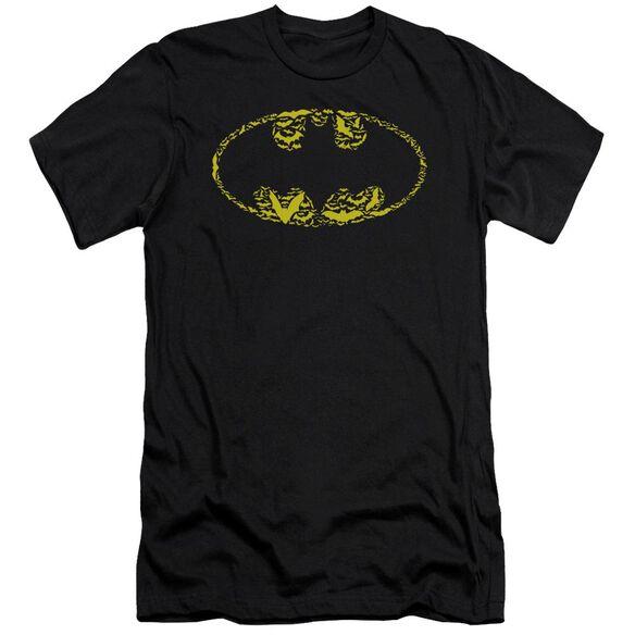 Batman Bats On Bats Short Sleeve Adult T-Shirt