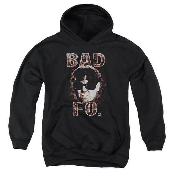 Three Stooges Bad Moe Fo Youth Pull Over Hoodie