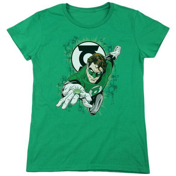 Gl Ring First Short Sleeve Womens Tee Kelly T-Shirt
