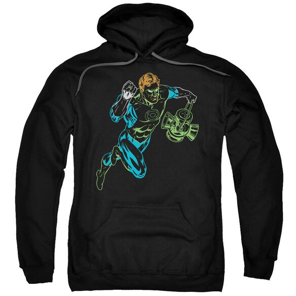 Gl Neon Lantern Adult Pull Over Hoodie