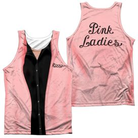 Grease Rizzo Pink Ladies Adult 100% Poly Tank Top