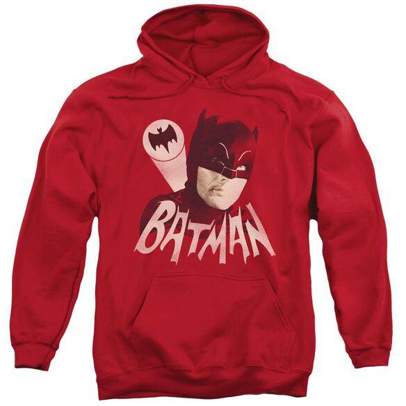 Batman Classic Tv Bat Signal Adult Pull Over Hoodie